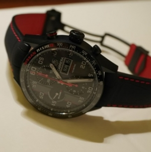 "Tag Heuer Reveals Special Edition Carrera ""NISMO"" Watch"