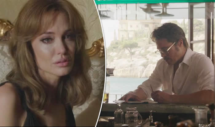Angelina Jolie Slaps Brad Pitt in the Face in By the Sea Trailer—Watch Now!