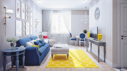 5 Spectacular Designs With Yellow Rugs And Carpets