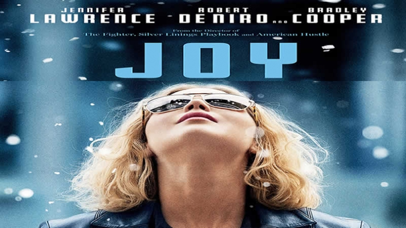 Jennifer Lawrence Looks Up in New Joy Poster