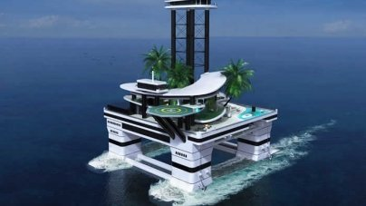 Designers Unveil Concept For Private Floating Island