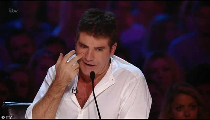 Simon Cowell Reveals Reason for his X Factor Tears