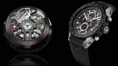 TAG HEUER TEASES THEIR UPCOMING ANDROID WEAR SMARTWATCH