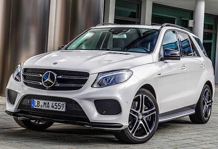 Mercedes striking design