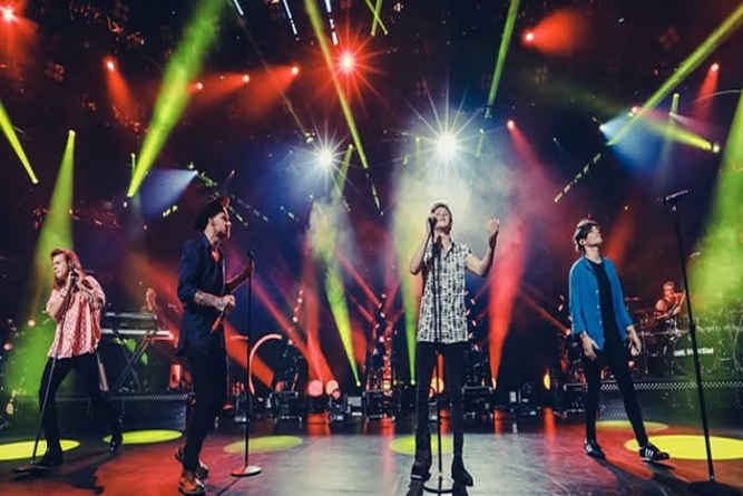 One Direction Perform Good Morning America 40th Anniversary