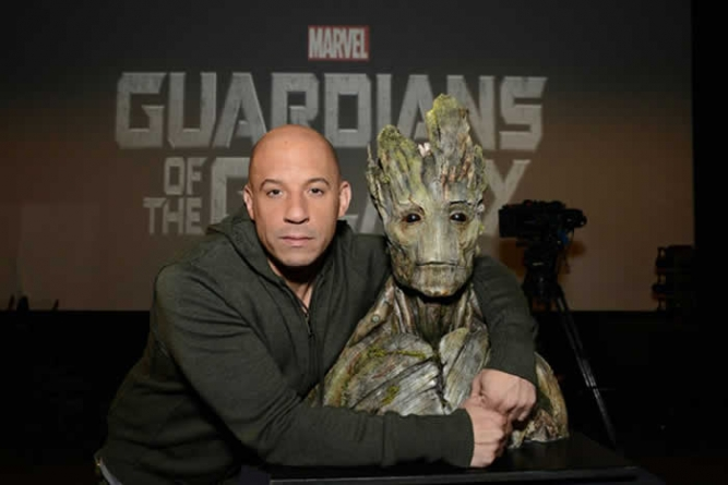 Vin Diesel Has His Own Special Groot Script