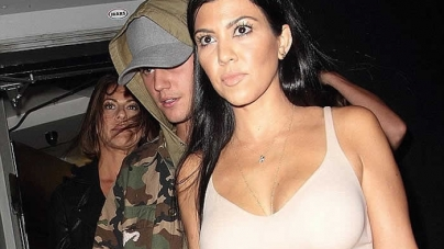 Justin Bieber Reacts to Kourtney Kardashian Rumours