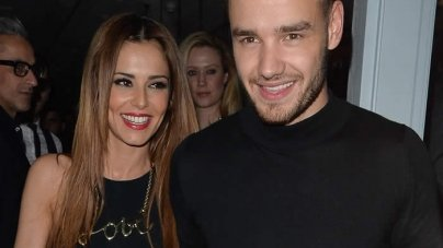 Cheryl Fernandez and One Direction's Liam Payne Spell Out Their LOVE