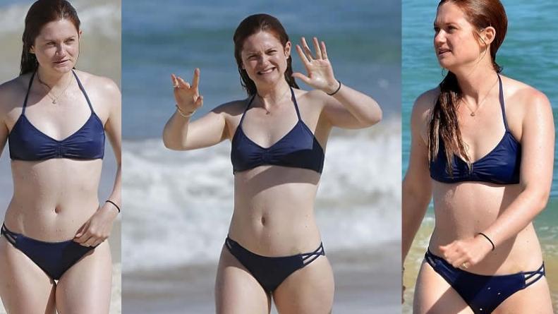 Harry Potter Star Bonnie Wright Showcases Enviable Bikini Body