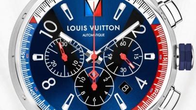 Louis Vuitton Tambour Blue Chronograph