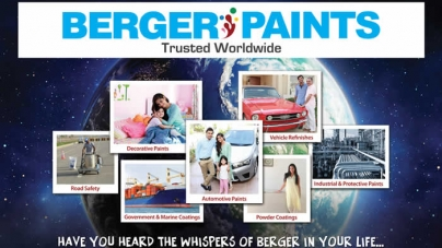 Berger Paints Trusted Worldwide