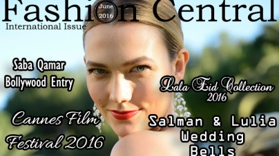Fashion Central international June Issue 2016