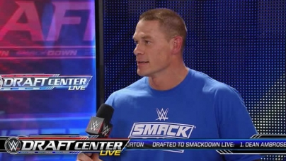 John Cena Reacts to Being Drafted to SmackDown Live