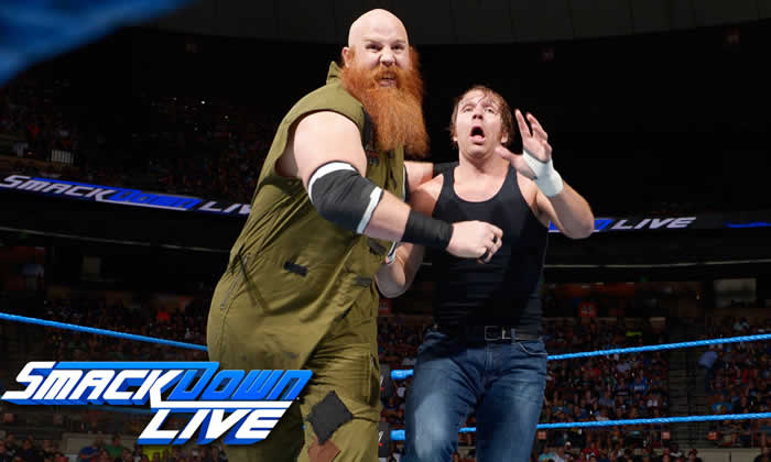Dean Ambrose vs. Erick Rowan: SmackDown Live,