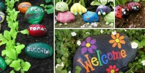 Painted Stone and Pebble Decors You Can Make Instantly for Your Garden