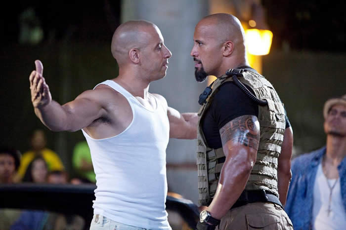 The Rock And Vin Diesel Being Kept Apart On Current Press Tour