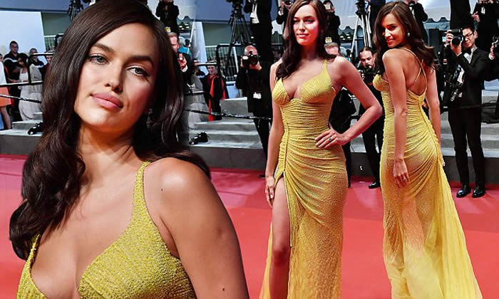 Irina Shayk Wows On the Cannes 2017 Red Carpet