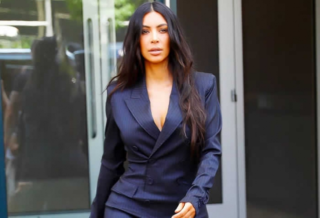 If Kim Kardashian's Worn an Outfit Like This Before, It Wasn't in Our Lifetime
