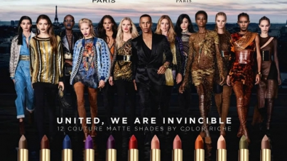 L'Oréal Paris and Balmain Paris Unveil Lipstick Ad Campaign