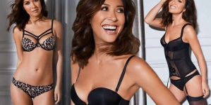 Myleene Klass Strips Off For Lingerie Shoot