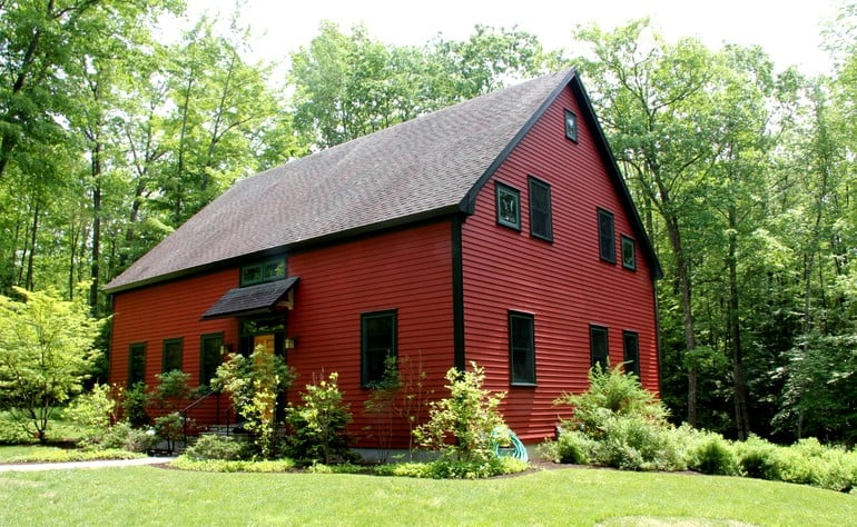 Nothing Says Fall Like a Weekend in a Cozy Barn, So Book 1 of These!