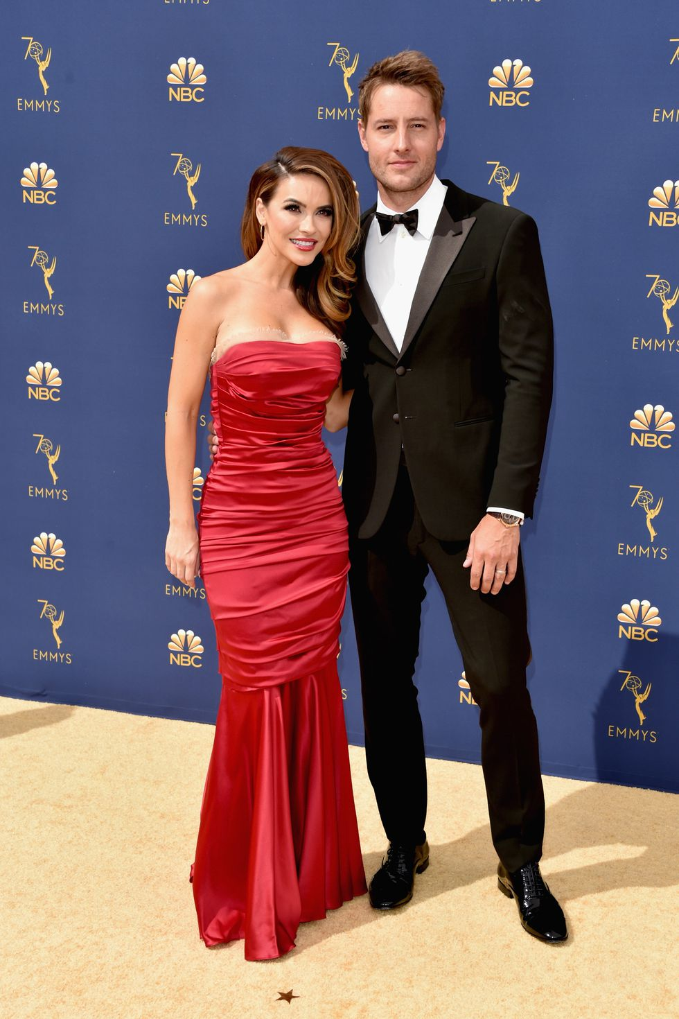 Chrishell and Justin Hartley