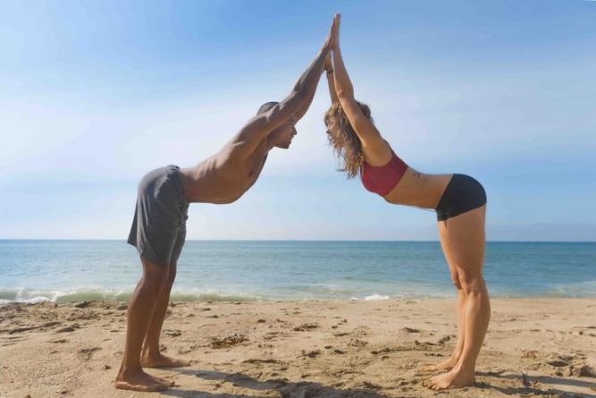 How Partner Yoga Can Make Sex Hotter