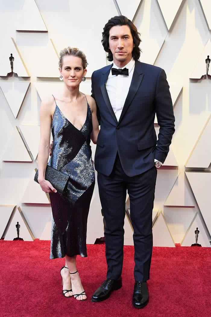 Adam Driver & Joanne Tucker