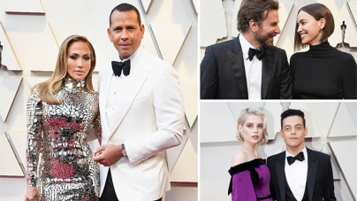 The Best Celebrity Couples on the 2019 Oscars Red Carpet