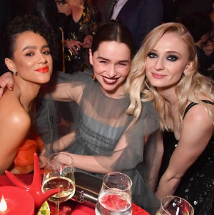 Game of Thrones Stars Gather at the Final Red Carpet Premiere