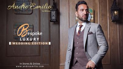 Andre Emilio Latest F/W Bespoke Luxury Wedding Edition