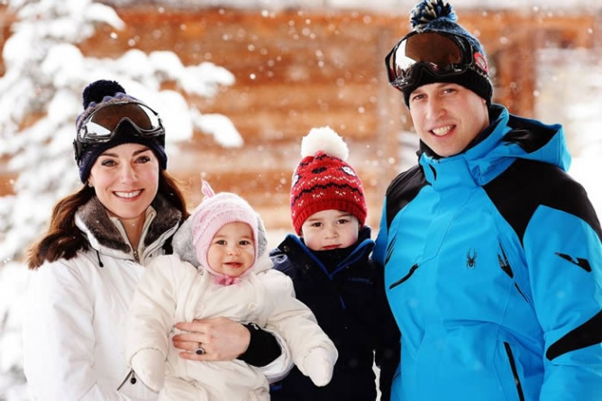 Kate Middleton and William taking George, Charlotte and Louis skiing after royal Christmas