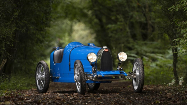 Bugatti unveils a $33,000 EV for kids