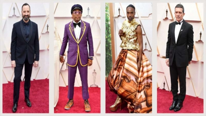Oscars 2020 Red Carpet Fashion: See the Best-Dressed Men's Styles