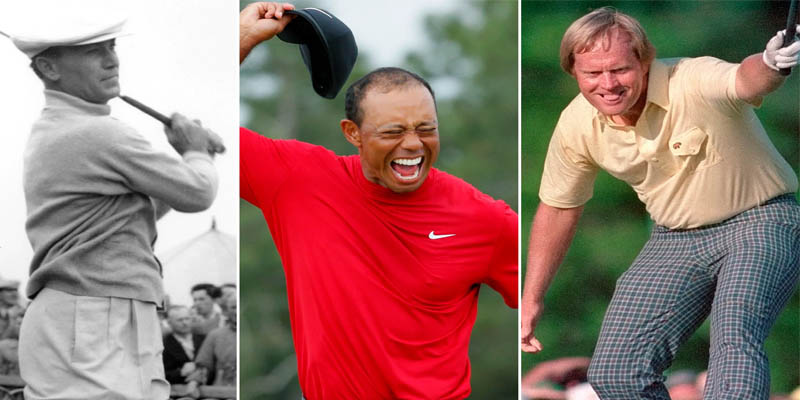Top 10 PGA Golfers of All Time