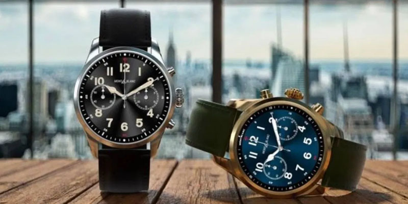 Montblanc's New Summit 2+ Smartwatch Is the First Luxury Timepiece to Feature 4G LTE