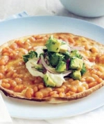 Baked Bean Pizza