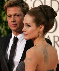 Brad Pitt and Angelina Jolie sell babies photos