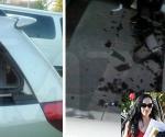 Octomom Nadya Suleman Car Crashed