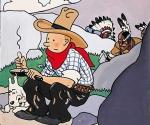 Tintin in America Comics