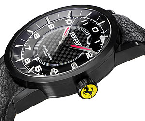 Ferrari Granturismo Automatic Watch Black