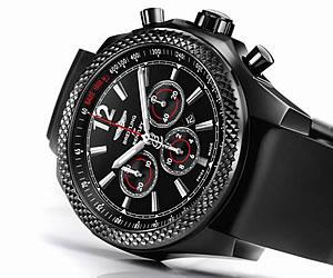 Barnato Bentley 42 Midnight Carbon Watch