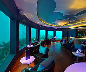 World First Underwater Music Club in the Maldives