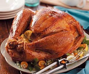 Citrus Rosemary Rubbed Turkey Recipe