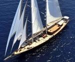 Regina Yacht that Sailed in James Bonds Skyfall