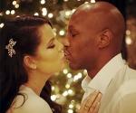 Khloe Kardashian and Lamar Odom Kiss