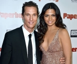 Matthew McConaughey Camila Alves Welcome Baby Girl
