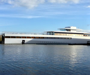Steve Jobs Yacht the Venus