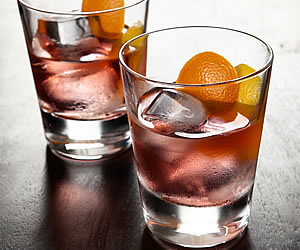 Gin Old Fashioned Drinks