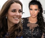 Kate Middleton and Kim Kardashian